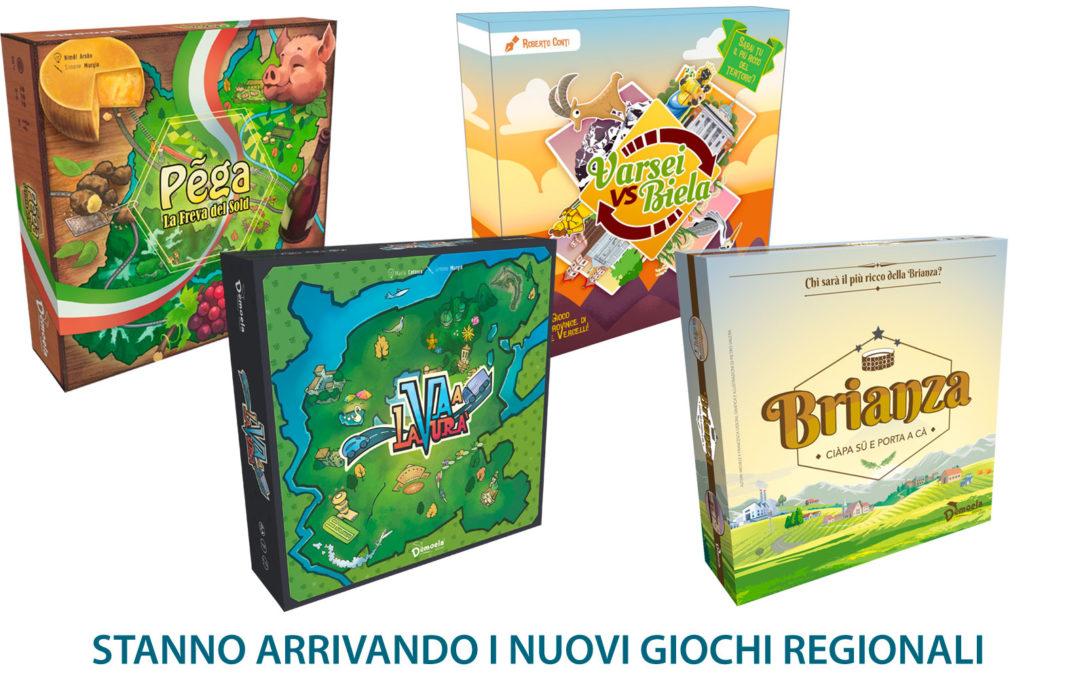 Novità giochi regionali 2020